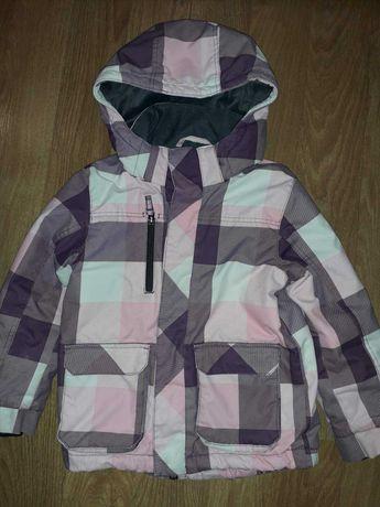 Куртка  на девочку h&m 4-5 лет.  Рост 110-116см