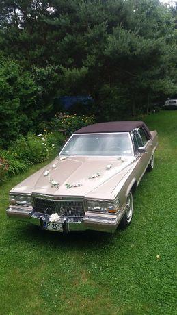 Auto Samochód do Ślubu Cadillac Fleetwood Brougham