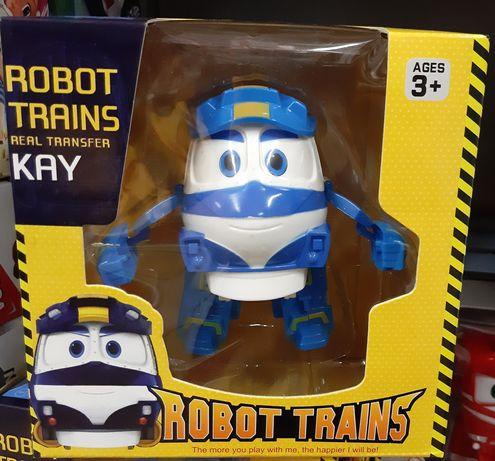Колекційний Робот поїзд Кей, 12 см