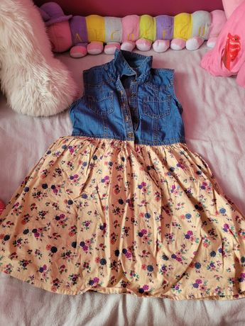 Sukienki rozmiar 122