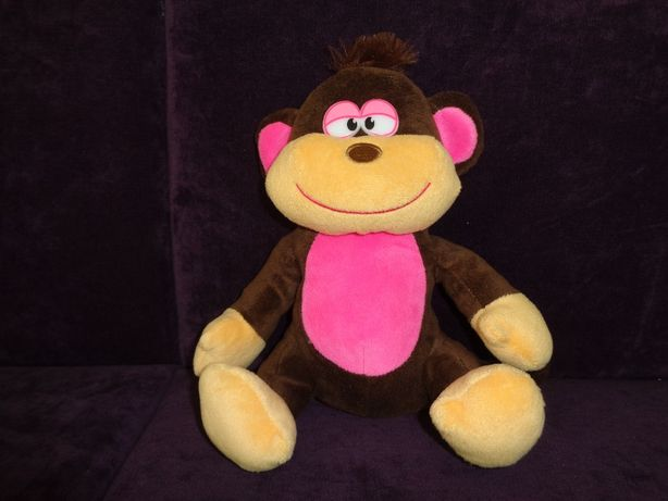 duża maskotka pluszowa małpka IDEALNY stan jak nowa