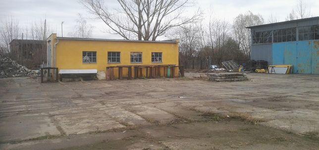 WYNAJMĘ hale i tereny przemysłowe 0,4 ha 550m2 zabudowy KOŹLE PORT