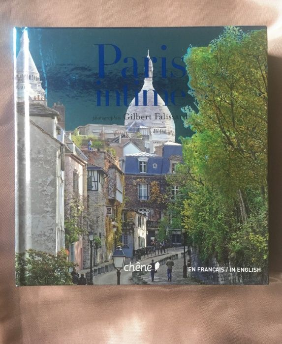 """""""Paris intime"""" Gilbert Falissard Album zdjęciowo-opisowy w 2 językach"""