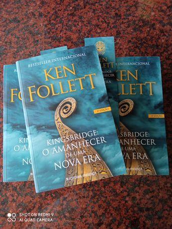 Kingsbridge - O Amanhecer de Uma Nova Era - de Ken Follett - NOVO