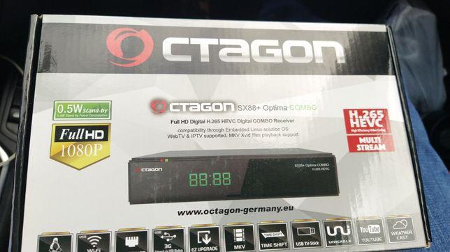 Octagon box TV s88+