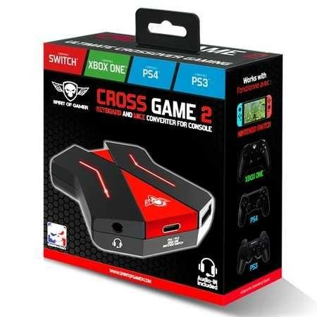 Adaptador Switch para Consolas Cross Game 2 SPIRIT OF GAMER