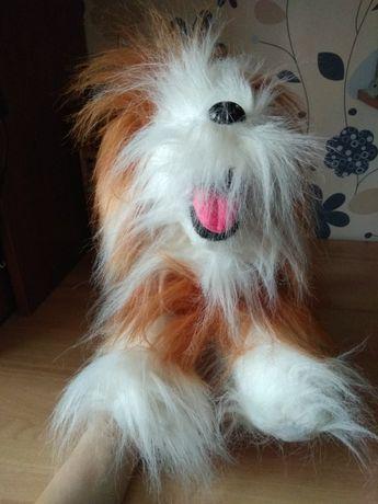 Мягкая игрушка лохматая собака ,как настоящая!