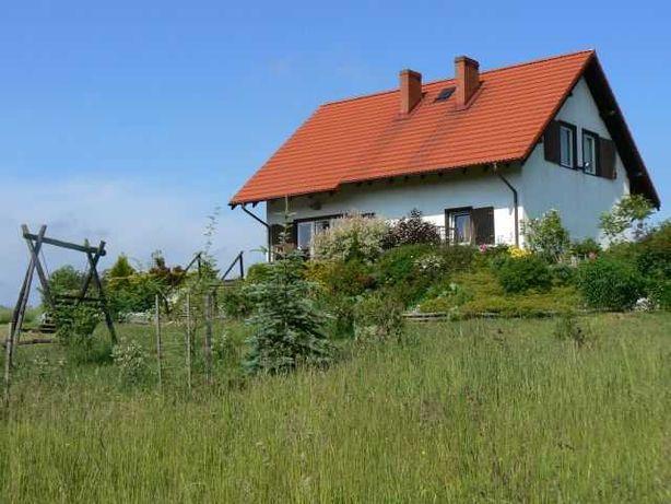 Wakacyjny dom na Kociewiu.