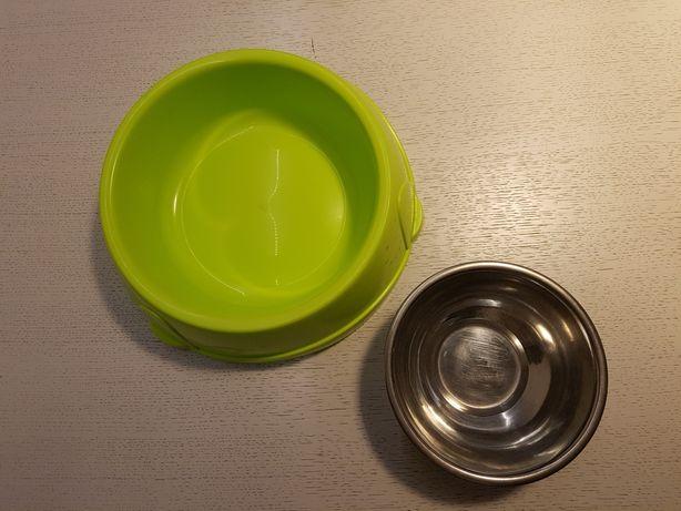 Miska duża Savic, miska metalowa