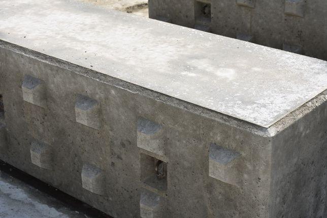 Blok betonowy Big Block Mury Oporowe Zasieki Hale