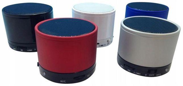 GŁOŚNIK BEZPRZEWODOWY Bluetooth podświetlany led mały poręczny