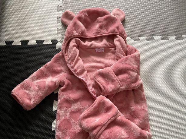 Kombinezon niemowlęcy dziewczęcy - rozmiar 68