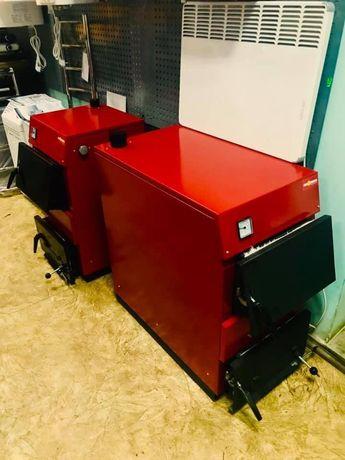 Котлы твердотопливные EUROTERM (Колви) 12 и 18 кВт.