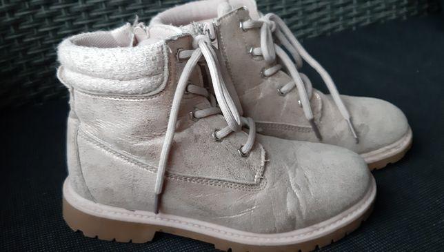 Buty jesienno- zimowe trapery dziewczęce rozm.32