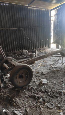 Element wozu konnego wóz z beczką 1000 l