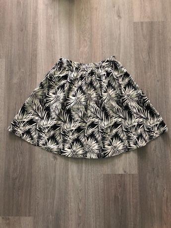 Летняя юбка солнце-клеш h&m, S-M, 38