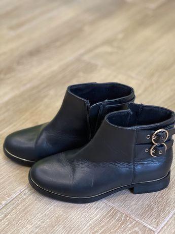 Кожаные детские ботинки Zara