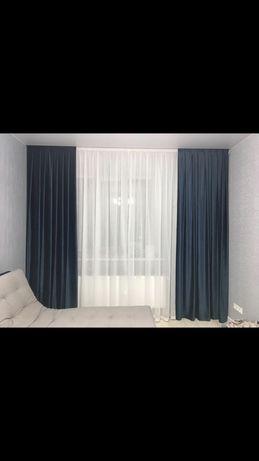Декор окон, шторы, тюли, ролеты, римские, карнизы, покривала, скатерти