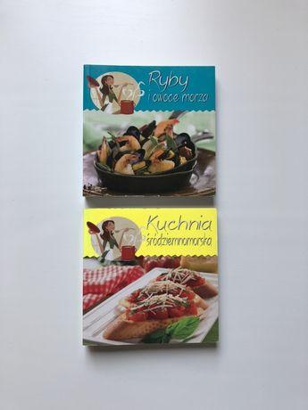Książki kucharskie: śródziemnomorska, ryby i owoce morza