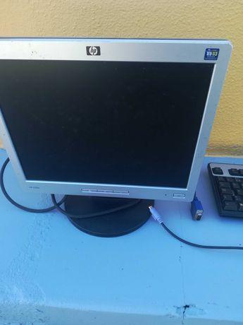 Dou Monitor e teclado hp