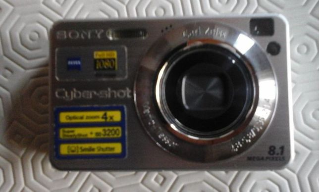 máquina fotográfica sony DSC-W130 steadyshot C/NOVA