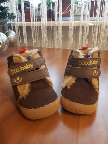 Buty zimowe dla dzieci niechodzących Bobobaby 6-12ms, rozm. 19 (12cm)