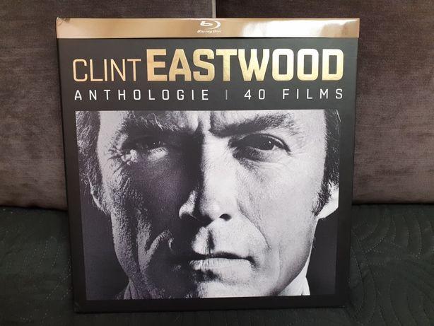 Blu-ray kolekcja Clint Eastwood Anthologie 40 filmów