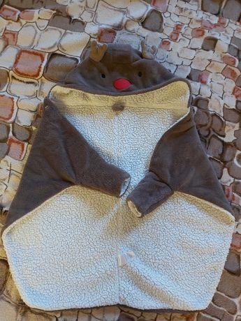 Теплое одеялко, плед, конверт для малыша