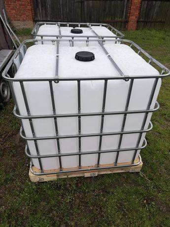 Pojemnik mauzer 1000l czysty