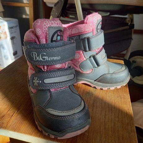 Зимові чобітки сапожки b&g термоботінки термо сапоги