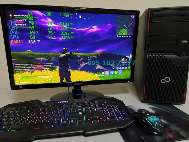 ЗВЕРЬ! i5, Nvidia 2Gb, 8Gb ОЗУ, Игровой Компьютер ПК Гарантия