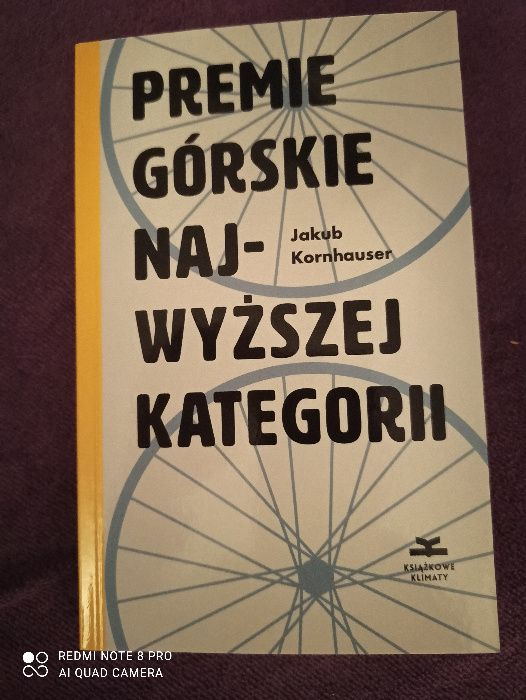 """Książka """"Premie górskie najwyżej kategorii"""" Jakub Kornhauser Knurów - image 1"""