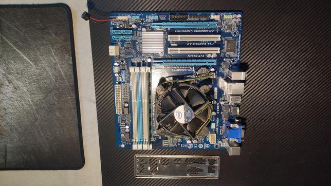 Zestaw Płyta główna gigabyte b75 i3 4gb ram