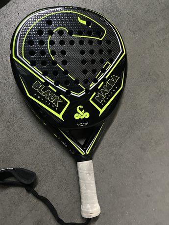 Raquete Padel vibora Black Edition