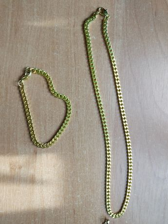 Łańcuszek i bransoletka męska lub damska