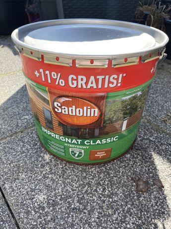 Sadolin impregnat hybrydowy classic do drewna mahoń NOWY