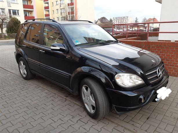 Mercedes ML - Bogate wyposażenie