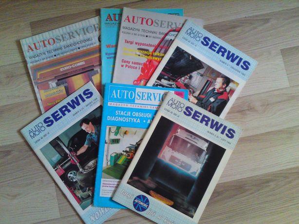 AutoSerwis 7 egzemplarzy z lat 1993-94
