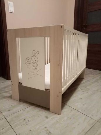 Łóżeczko dziecięce + materac