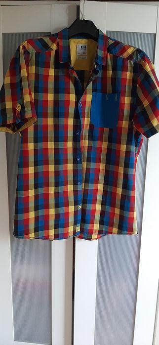 Koszula męska w kratę Łódź - image 1