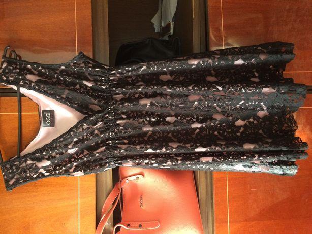 Продам платье гипюр с подкладкой