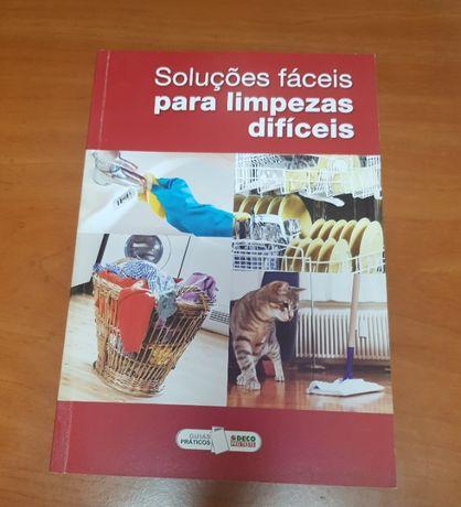 Livro Soluções fáceis para limpezas difíceis