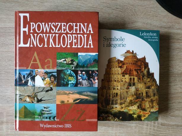 Pakiet 8 książek historia encyklopedie kompendium