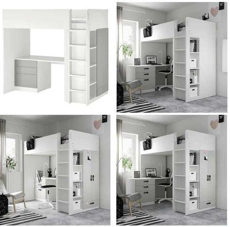 łóżko piętrowe ANTRESOLA IKEA