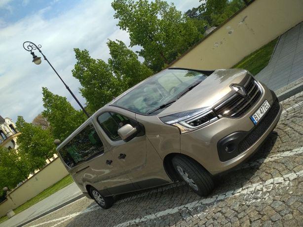 Wynajem Bus 9 osobowy Bez limitu Renault Trafic 2020 Promocja 20%