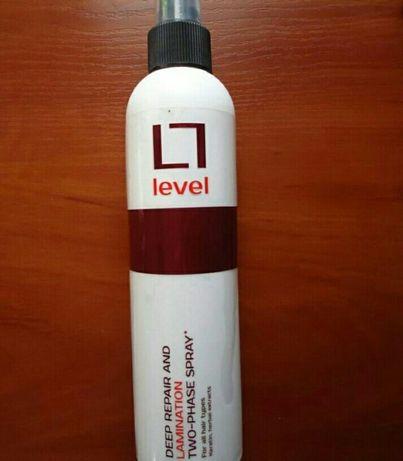 шампунь и спрей Level + палетка Мас