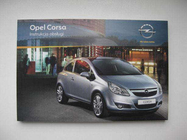OPEL CORSA D 06-11 Polska instrukcja obsługi OPEL CorsaD