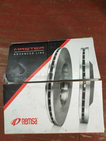 Передние тормозные диски Remsa 61584.10 Пежо 308, 308 SW