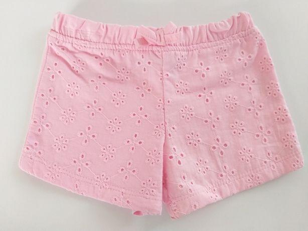 Krótkie spodenki niemowlęce letnie spodnie r.62 wyprawka 0-3 Primark