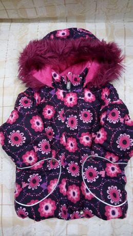 Продам зимний костюм ТМ Ленне размер 92+6